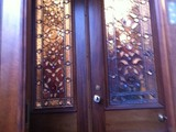 stained glass doors 1